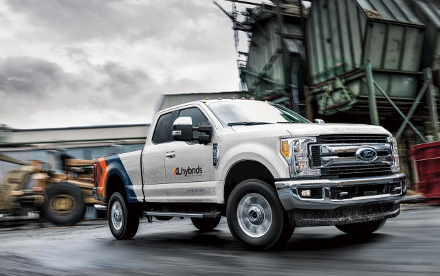 Ford F 250 Super Duty Pickup Truck Ed With Xl Hybrids Uped Hybrid Electric