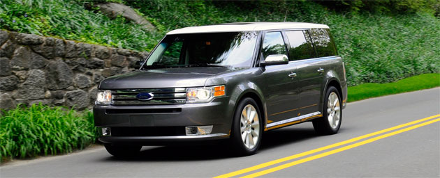 Three of the cars and trucks are built by U.S carmakers, including the Ford Flex crossover