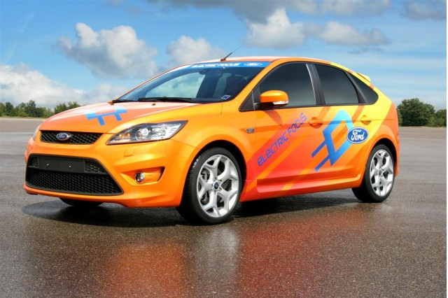 Ford Focus BEV for The Jay Leno Show's Green Car Challenge