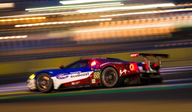 Ford Gt At The   Hours Of Le Mans