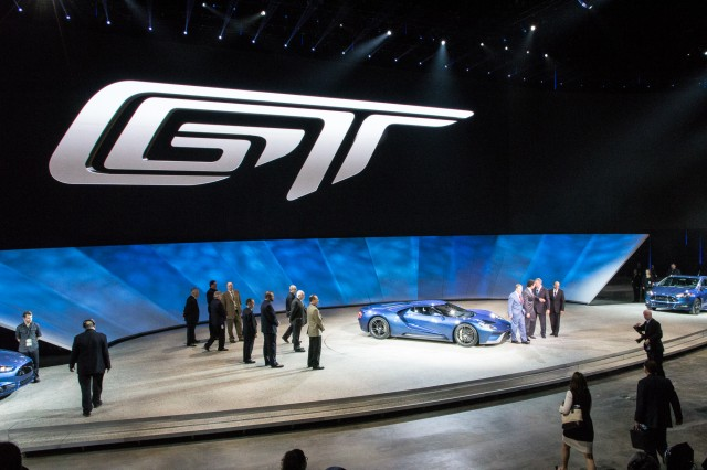 Ford GT live photos, 2015 Detroit Auto Show