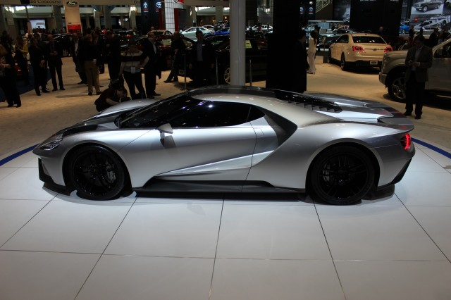 Ford Gt Prototype  Chicago Auto Show Live Photos