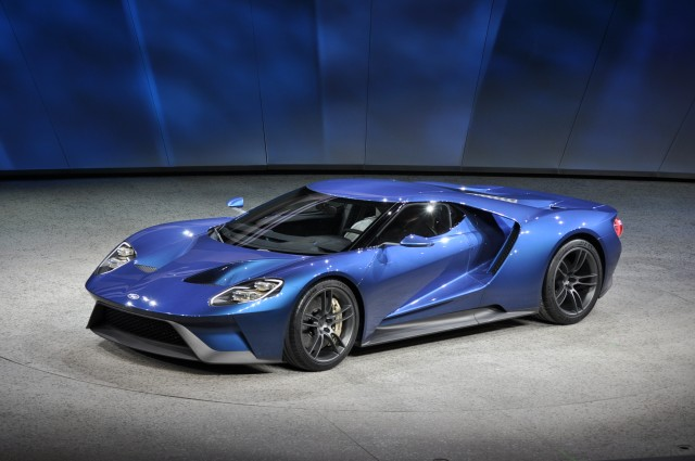 New Ford Gt  Detroit Auto Show