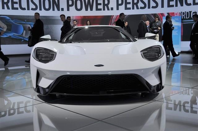 Production-Intent Ford GT, 2016 Detroit Auto Show