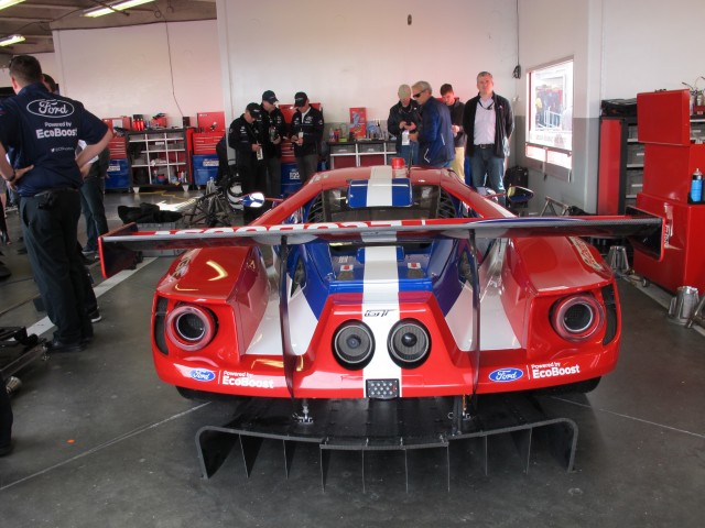 Ford Gt Race Car  At Daytona