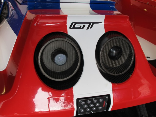 Ford Gt Race Car  At Daytona