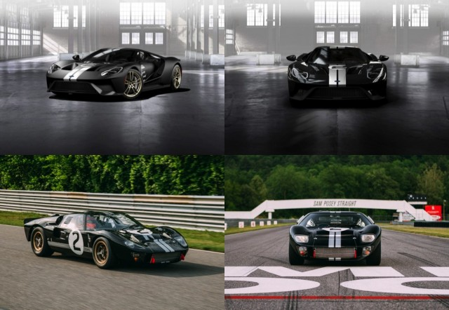 1966 Ford GT40 Mk II vs 2017 Ford GT '66 Heritage Edition