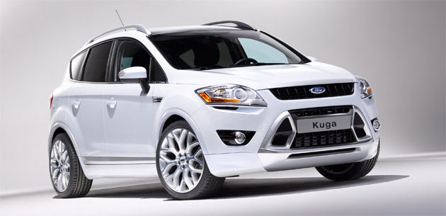 Ford Kuga Gets New Look And Updated Powertrain For Paris Motor Show