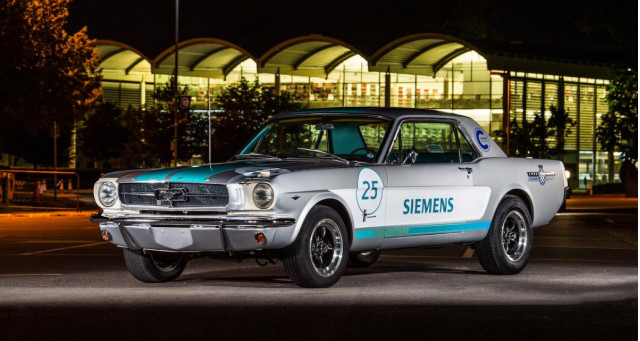 This '65 Mustang will autonomously drive itself up the Goodwood Hillclimb