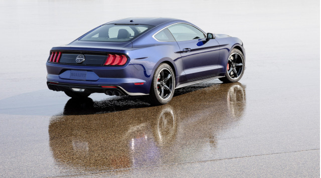 2019 Ford Mustang Bullitt finished in Kona Blue