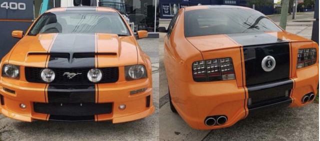 Ford Mustang sedan based on Falcon