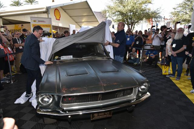 Original 1968 Ford Mustang Bullitt