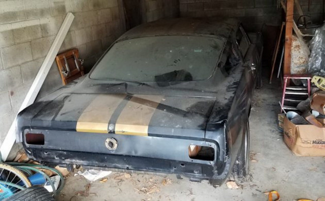 1966 Ford Shelby GT350H barn find