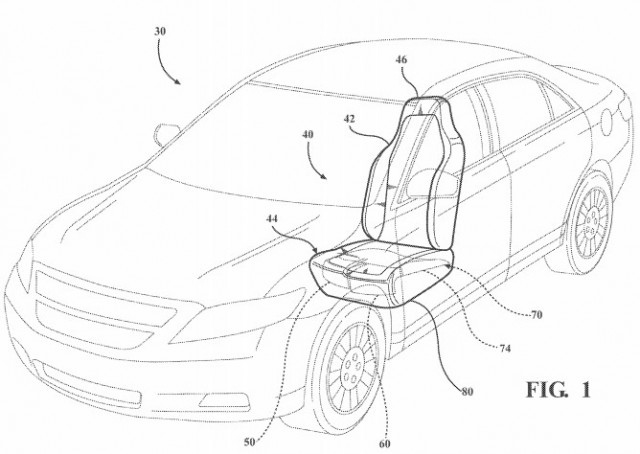 Ford Loves Patents And Just Added One For Active Thigh Support