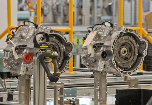 Ford PowerShift dual clutch transmission