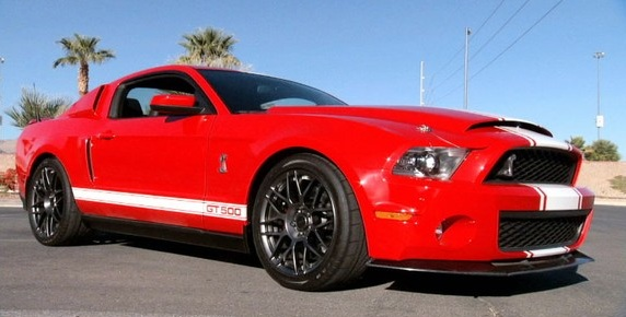 Ford Racing Champions 2011 Shelby GT500 Special Edition Mustang