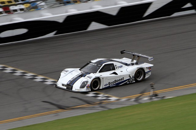 Ford Racing EcoBoost V-6 Daytona Prototype sets new speed record at speedway