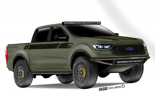 Ford Ranger SEMA Baja-Forged