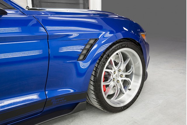 Shelby Rolls Out Wide Body Mustang Concept Motor Authority