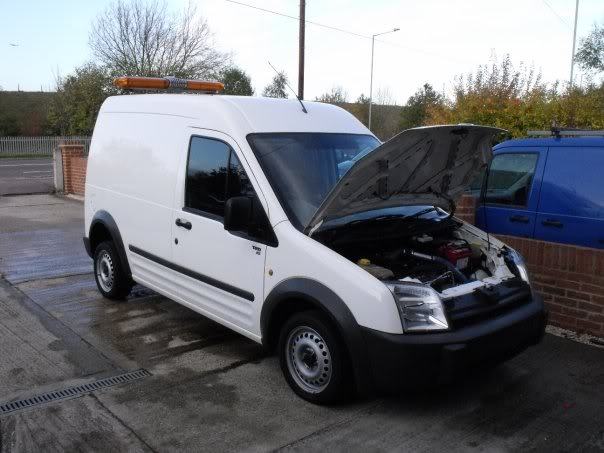 Awesome Or Awful? Ford Transit Connect With Focus RS Engine Swap