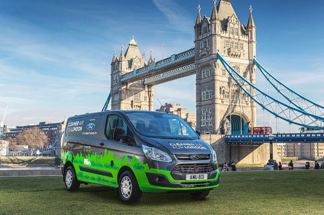 Ford Transit Custom plug-in hybrid