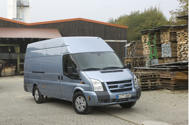 Ford Transit Van, high-roof European model