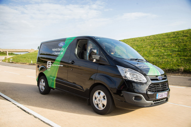 Ford Transit Plug In Hybrid Van For The Uk