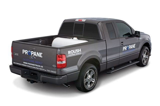Roush Ford F-150 LP Natural Gas truck