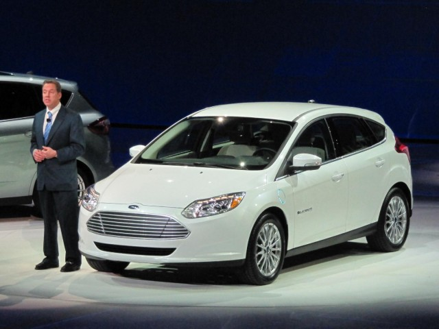 Ford press conference, 2011 Detroit Auto Show