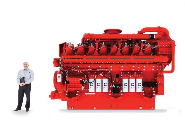 Cummins' 4000 horsepower Hedgehog engine