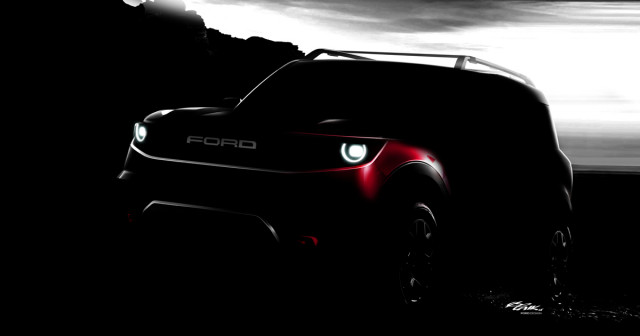 Ford gives a glimpse of an upcoming SUV that's not the Bronco