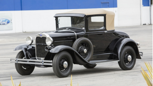 1931 Ford Model A, part of Carroll Shelby car collection