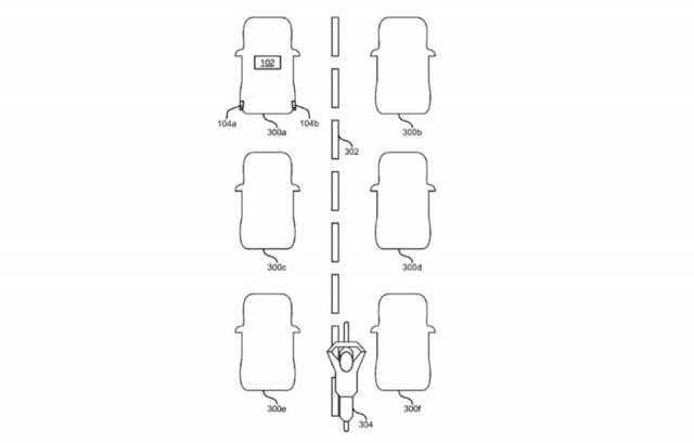 Ford technology patent to detect lane-splitting motorcyclists