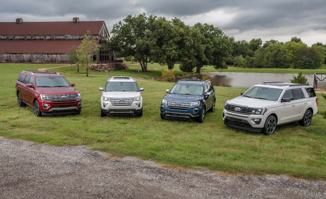Ford unveils 2019 Explorer and Expedition special edition SUVs at State Fair of Texas