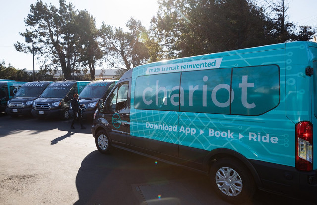 Ford puts the brakes on Chariot ride-share trials