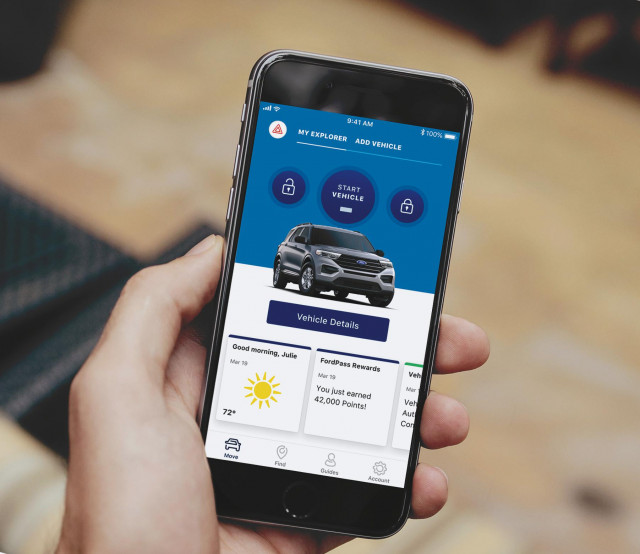 What do you get from a connected car app?