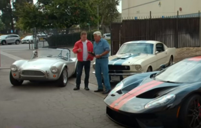Matt Damon Jay Leno's Garage