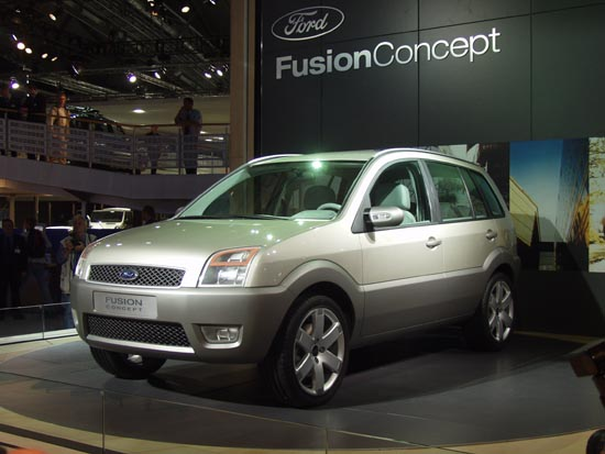 Image Ford Fusion Concept Frankfurt 2001 Size 550 X 413