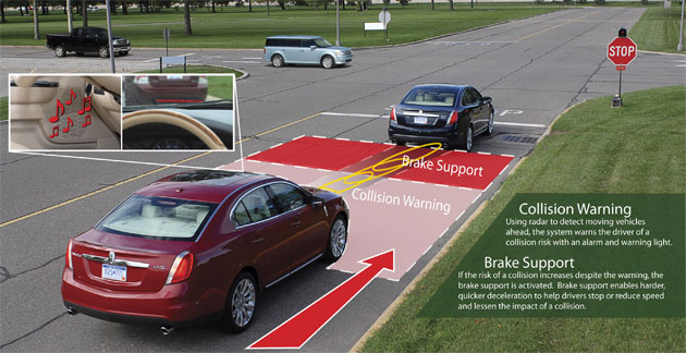 Ford's Collision Warning system