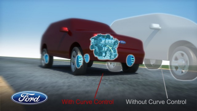 Ford's Curve Control system