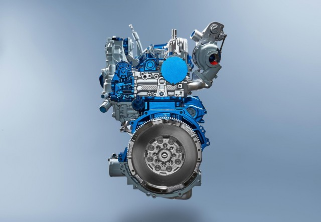Ford's new EcoBlue 2.0-liter turbodiesel.