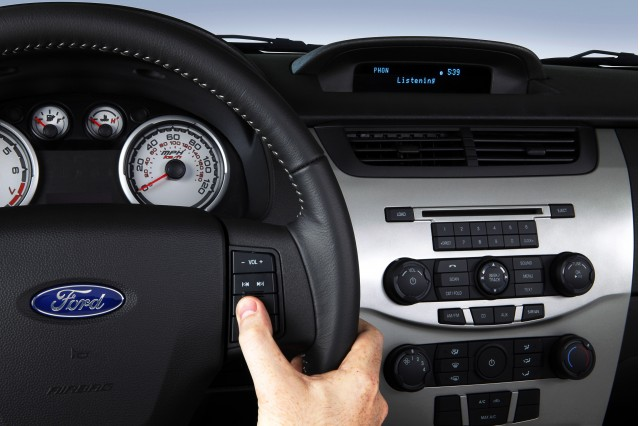 Ford's SYNC System. Image: Ford Motor Company