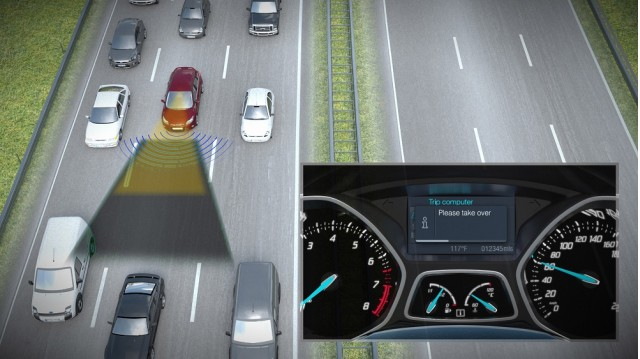 Ford's Traffic Jam Assist technology