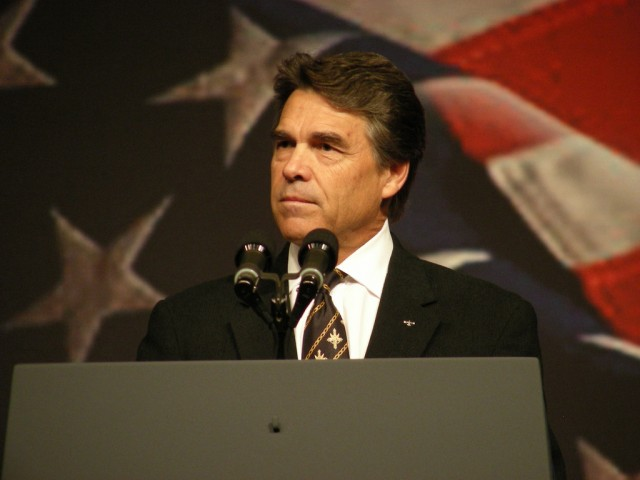 U.S. Secretary of Energy Rick Perry in 2008, when he was governor of Texas