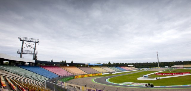 Formula One German Grand Prix at the Hockenheimring