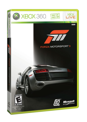 Forza Motorsport 3 box art