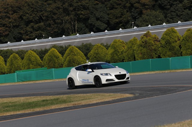 Four-motor Honda CR-Z, Honda R&D Center, October 2015