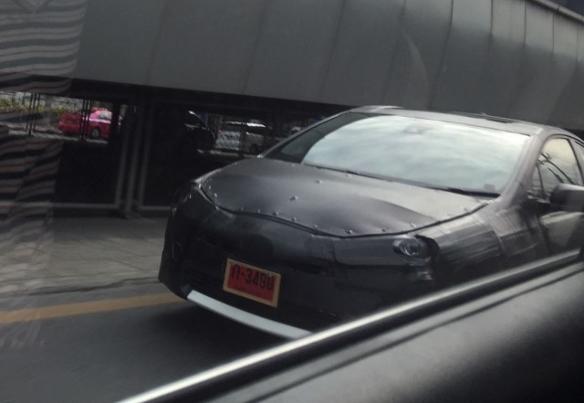 Fourth Generation Toyota Prius Hybrid Prototype Testing In Thailand From Headlight Magazine Forum