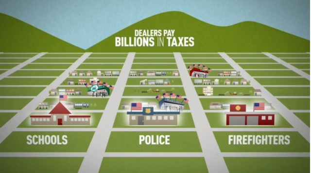 Frame from 'A Good Deal for All' video, by National Automobile Dealers Association (NADA), June 2014