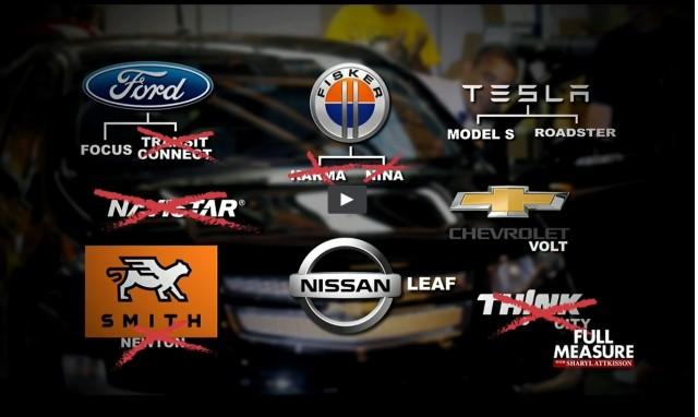 Frame from 'Running on E,' Full Measure segment on electric cars, Dec